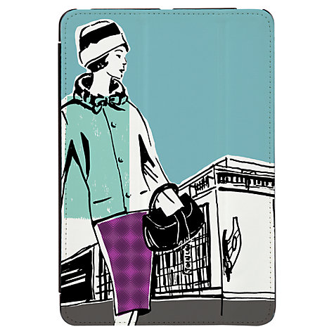 Buy Targus Click-In Case with Ladies Pattern for iPad mini, 1960s Print, Blue Online at johnlewis.com