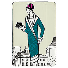 Buy Targus Click-In Case with Ladies Pattern for iPad mini, 1920s Print, Cream Online at johnlewis.com