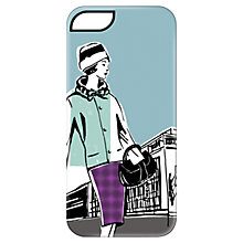 Buy Targus Case with Ladies Pattern for iPhone 5 & 5s, 1960s Print, Blue Online at johnlewis.com