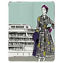 Buy Targus Click-In Case with Ladies Pattern for iPad Air, 1950s Print, Green Online at johnlewis.com