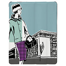 Buy Targus Click-In Case with Ladies Pattern for iPad Air, 1960s Print, Blue Online at johnlewis.com