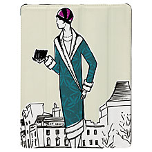 Buy Targus Click-In Case with Ladies Pattern for iPad Air, 1920s Print, Cream Online at johnlewis.com
