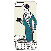 Buy Targus Case with Ladies Pattern for iPhone 5 & 5s, 1920s Print, Cream Online at johnlewis.com