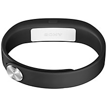 Buy Sony SmartBand SWR10, Wireless Activity and Sleep Tracking Wristband, Black Online at johnlewis.com