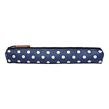 Buy Cath Kidston Skinny Pencil Case, Blue Online at johnlewis.com