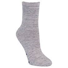 Buy Calvin Klein Holiday Home Wool Mix Bed Socks, Grey Online at johnlewis.com