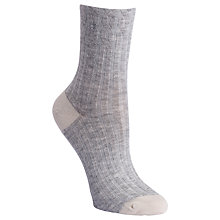 Buy Calvin Klein Holiday Cable Knit Ankle Socks Online at johnlewis.com