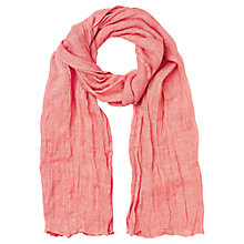 Buy Jigsaw Linen Summer Scarf, Linen Online at johnlewis.com
