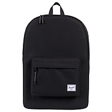 "Buy Herschel Heritage 15"" Laptop Backpack, Black Online at johnlewis.com"