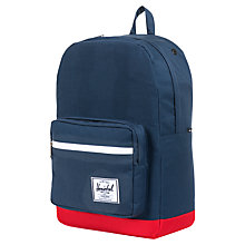 Buy Herschel Pop Quiz Backpack, Navy/Red Online at johnlewis.com