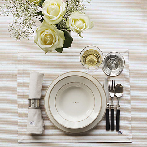 Buy Lexington Oxford Stripe Placemat Online at johnlewis.com