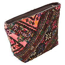 Buy East Vintage Patchwork Make Up Bag, Multi Online at johnlewis.com