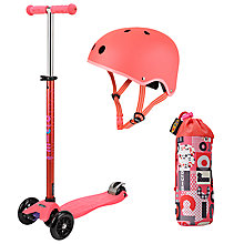 Buy Micro Scooter Maxi Set, Coral Online at johnlewis.com