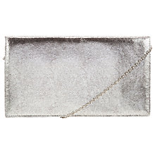 Buy COLLECTION by John Lewis Crackle Metallic Clutch Bag Online at johnlewis.com