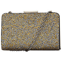 Buy COLLECTION by John Lewis Crystal Clutch, Metallic Online at johnlewis.com