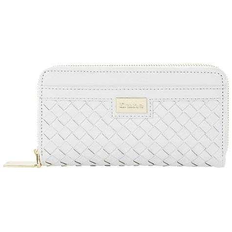 Buy Dune Keave Weave Zip Purse Online at johnlewis.com