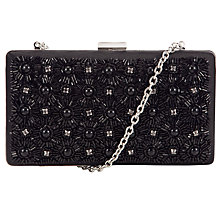 Buy John Lewis Toni Embellished Clutch Bag, Black Online at johnlewis.com