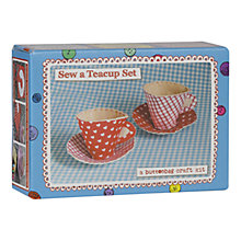 Buy Buttonbag Felt Teacups Kit Online at johnlewis.com