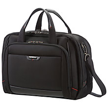 Buy Samsonite Pro-Dlx Laptop Briefcase, Black Online at johnlewis.com