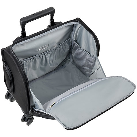 Buy Briggs & Riley Baseline 4-Wheel 39.4cm Cabin Suitcase, Black Online at johnlewis.com