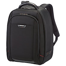 "Buy Samsonite Pro-DLX 4 16"" Laptop Backpack, Black Online at johnlewis.com"