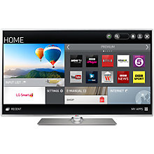"Buy LG 55LB580V LED HD 1080p Smart TV, 55"" with Freeview HD with Monster HDMI Cable Online at johnlewis.com"