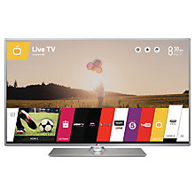 "Buy LG 55LB650V LED HD 1080p 3D Smart TV, 55"" with Freeview HD with Monster HDMI Cable Online at johnlewis.com"