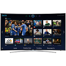 "Buy Samsung UE48H8000 LED HD 1080p 3D Smart TV, 48"" with Freeview/Freesat HD, Voice Control and 2x 3D Glasses with Sound Bar & Wireless Subwoofer, Black Online at johnlewis.com"