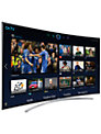 "Samsung UE48H8000 Curved LED HD 1080p 3D Smart TV, 48"", Freesat/Freeview HD, 2x 3D Glasses with 3D 4K Blu-ray Disc/DVD Player"
