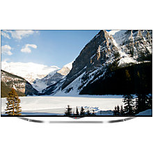 "Buy LG 55UB850V LED 4K Ultra HD 3D Smart TV, 55"" with Freeview HD + Monster 1250 HD Digital HDMI Cable, 2m Online at johnlewis.com"