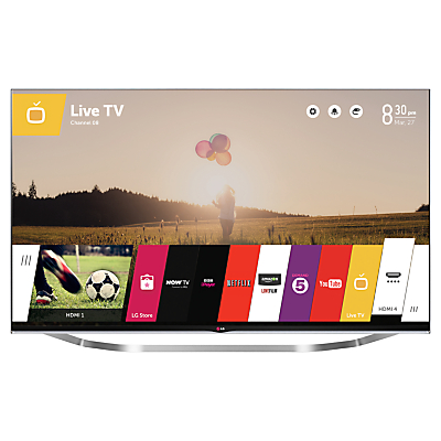 LG 55LB730V LED HD 1080p 3D Smart TV 55 with Freeview HD and 2x 3D Glasses