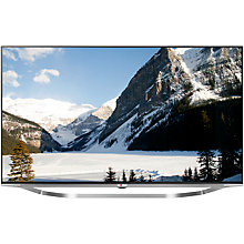 "Buy LG 55UB950V LED 4K Ultra HD 3D Smart TV, 55"" with Freeview HD & Integrated Subwoofer with Sound Bar Online at johnlewis.com"