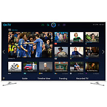 "Buy Samsung UE40H6410 LED HD 1080p 3D Smart TV, 40"" with Freeview HD, White Online at johnlewis.com"