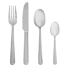 Buy John Lewis Eris Polished Cutlery Set, 24 Piece Online at johnlewis.com
