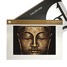 Buy Gallery One, James Dominé - Buddha Meditation Mounted Print, A2 (42 x 59.5cm) Online at johnlewis.com