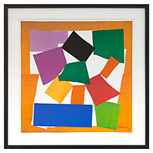Buy Henri Matisse - The Snail Framed Print, 78.9 x 78.9cm Online at johnlewis.com