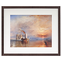 Buy Joseph Mallord William Turner - The Fighting Temeraire Framed Print, 35 x 41.6cm Online at johnlewis.com