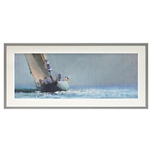 Buy John Lewis Croft Collection, John Harris - In the Solent Framed Print, 42.2 x 92.2cm Online at johnlewis.com