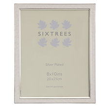 "Buy Sixtrees Zurich Photo Frame, 8 x 10"" (20 x 25cm) Online at johnlewis.com"