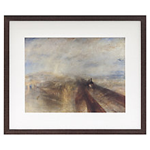 Buy Joseph Mallord William Turner - Rain, Steam & Speed Framed Print, 35 x 41.6cm Online at johnlewis.com