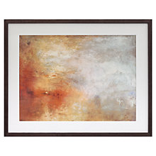 Buy Joseph Mallord William Turner - Sun Setting Over the Lake Framed Print, 64.5 x 81.5cm Online at johnlewis.com