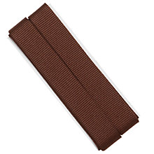 Buy Prym Ribbed Tape, 16mm, Brown Online at johnlewis.com
