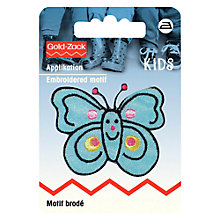 Buy Prym Blue Butterfly Applique Online at johnlewis.com