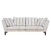 Buy John Lewis Regency Grand Sofa, Marlow Putty/Marlow Putty Stripe Online at johnlewis.com
