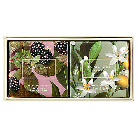 Buy Jo Malone Michael Angove Blackberry & Bay Limited Edition Bath Soap Collection Online at johnlewis.com