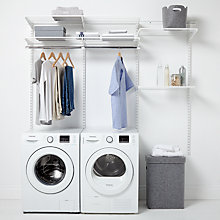 Buy Elfa 1812mm Utility Room Shelving System Online at johnlewis.com