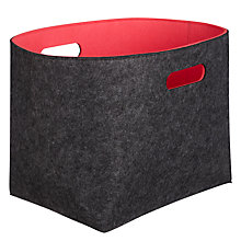 Buy John Lewis Copenhagen Felt Storage Container Online at johnlewis.com