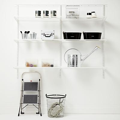 Elfa 1800mm Garage 3 Shelf Set 21