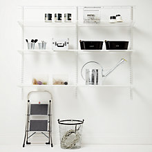 Buy Elfa 1800mm Garage 3 Shelf Set 21 Online at johnlewis.com