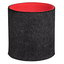 Buy John Lewis Copenhagen Neon Felt Storage Pot Online at johnlewis.com